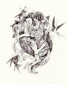 Christina Mrozik, wolf-thumb