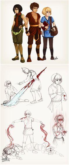 Attack on Avatar by darkness333.deviantart.com on @DeviantArt