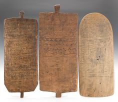 A Collection of West African Islamic Teaching Tablets