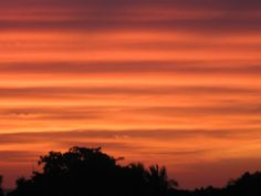 Sunset sky, Saly, Senegal  Photo by P.H.Sassoon