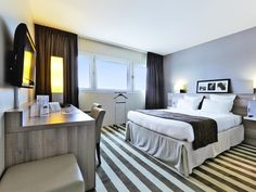 Bonneuil-en-France Kyriad Prestige Le Bourget Aeroport France, Europe Kyriad Prestige Le Bourget Aeroport is a popular choice amongst travelers in Bonneuil-en-France, whether exploring or just passing through. Featuring a complete list of amenities, guests will find their stay at the property a comfortable one. Take advantage of the hotel's free Wi-Fi in all rooms, 24-hour front desk, facilities for disabled guests, luggage storage, Wi-Fi in public areas. Comfortable guestroom...