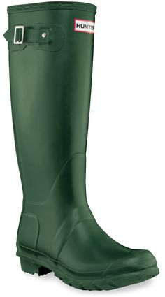 Hunter Original Wellington Rain Boots - Women's - Free Shipping at REI.com  Green Or