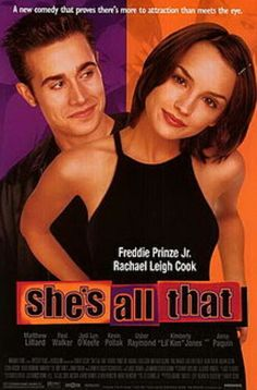 Hit - It's unsophisticated and unapologetically sassy. It's the perfect ridiculous high school movie featuring Freddie Prinze Jr. as a butt-clapping jock and a makeover scene in which Rachael Leigh Cook effectively removes her glasses. You'll see plenty of familiar faces from the good old days of rom-com, some chart-topping tunes from the good old days of the 90s. You'll be up and dancing your daggiest by film's end!