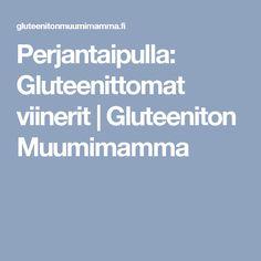 Perjantaipulla: Gluteenittomat viinerit | Gluteeniton Muumimamma