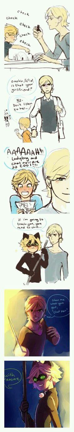 Felix is great -Toni