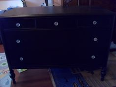 Just finished this for one of my customers, she will be using it in her nursery as a change table/dresser