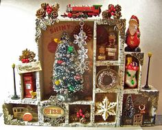 beautiful Christmas configurations box