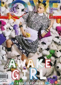 Cara Delevigne Covers Love Magazine ( United Kingdom ) Winter 2014 issue