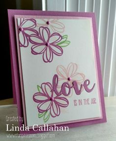 The Stamp Review Crew is featuring Sunshine Sayings today. This set has some great sentiments as well as coordinating diecuts. And it is perfect for sending flowers on Valentine's Day!    And I may