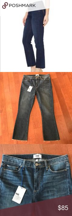 """Paige Rory Crop Flare Jeans Size 31 Paige Rory Crop Flare Jeans Size 31. Length approximately 36"""" long and Inseam approximately 25.5"""" long. Brand new with tags. PAIGE Jeans Ankle & Cropped"""
