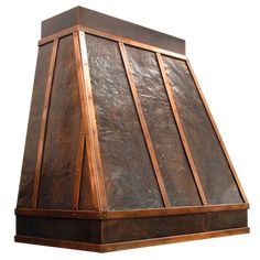 custom hammered copper range hood Texas Lightsmith Model E Copper Kitchen, Rustic Kitchen, Kitchen Decor, Kitchen Design, Kitchen Ideas, Craftsman Kitchen, Copper Hood, Copper Range Hoods, Kitchen Vent Hood