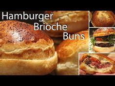 Hamburger Brioche Bun Recipe - YouTube