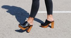 Jeffrey Campbell Woodies. Clogs. Shoes
