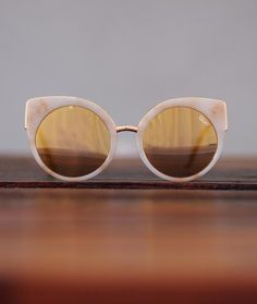 a2578be93bf Last Dance in Blush Marble with Mirror Lens Quay Sunglasses