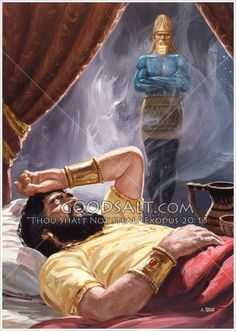 THE IMAGE OF NEBUCHADNEZZAR In these days when prophecy is so rapidly fulfilling before our eyes the implications of Daniel's words are intensely interesting for serious Bible students. Bible Pictures, Jesus Pictures, Bible Illustrations, Prophetic Art, Biblical Art, Bible Knowledge, Old Testament, Jehovah's Witnesses, Bible Scriptures