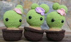Tutorial Cactus amigurumi free pattern video tutorial