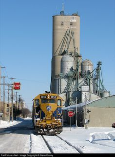 RailPictures.Net Photo: NECR 3852 New England Central EMD GP38AC at Saginaw , Michigan by Steve Davey