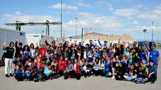 Παιδιά, εκπαιδευτικοί και επιμορφωτές νέων στο Κέντρο Εκπαίδευσης Σκαραμαγκά