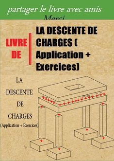 LA DESCENTE DE CHARGES (Application + Exercices) Civil Engineering Design, Steel Deck, Structural Analysis, Construction Documents, Quote Citation, Autocad, Modern Architecture, 1, How To Plan