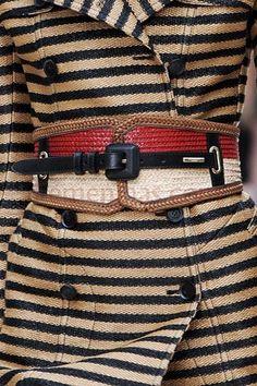 Cinto moda 2013 Burberry Prorsum