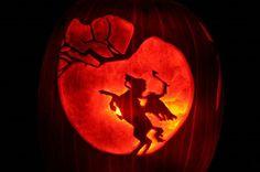 The Legend of Sleepy Hollow Pumpkin