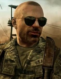 CIA Special Agent Jason Hudson. COD: Black Ops.