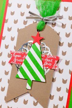 #kerstkaarten maken met Creatief met Kaarten, www.ikmaakkaarten.nl