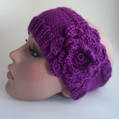 Whitney Port (The City) Inspired Headband by jennlikesyarn, via Flickr