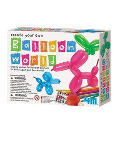 This Balloon World Craft Kit is perfect! #zulilyfinds