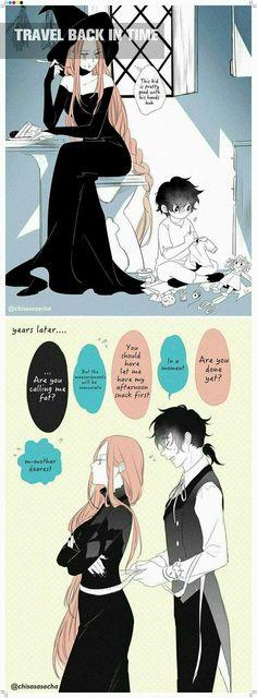 Sorciere( finally in English 😅 Manga Couples, Cute Anime Couples, Manga Art, Manga Anime, Character Inspiration, Character Art, Anime Witch, Witch Manga, Sad Drawings