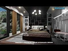 3D ANIMATION - MASTER BEDROOM