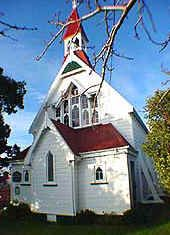 Church in Eketahuna, NZ