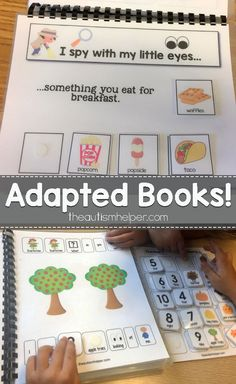 Help make adapted books a staple in your autism classroom with our many variations available on the blog! From theautismhelper.com #theautismhelper