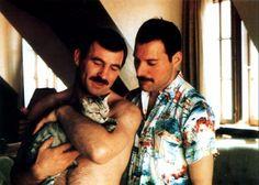 Aparecen 18 fotos íntimas de Freddie Mercury con su novio Jim Hutton antes de morir