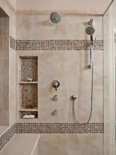 Bathroom Showers design of the doorless walk in shower | bath, showers and master