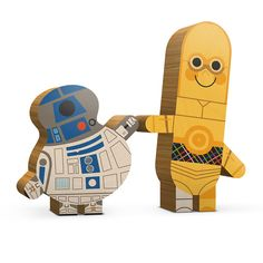 "R2-D2 & C-3PO - part of Andrew Kolb's ""Two of a Kind"" series."
