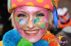 Fotowedstrijd Carnaval 2012 | Fotowedstrijd Schminkcreaties