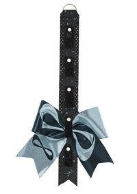 how to make a cheer bow backpack strap