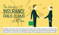 The Weirdest Insurance Fraud Claims of All Time - http://moneyminiblog.com/infographics/weirdest-insurance-fraud-claims/