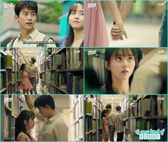 Bong pal and hyun ji at library - Let's Fight Ghost - Episode 9 Review - Korean…