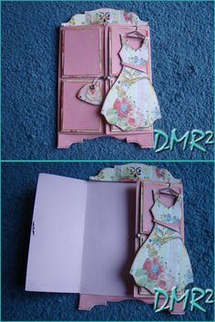 DMR²: Postcard in form the closet.