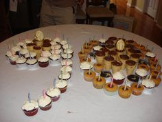 90 Cupcakes For A 90th Birthday Party Did This Few Years Go
