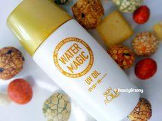 Rohto Skin Aqua Water Magic UV Oil Sunscreen PF50 + PA ++++ отзыв. Sunscreen, Aqua, Magic, Oil, Water, Beauty, Gripe Water, Beauty Illustration, Sun Protection