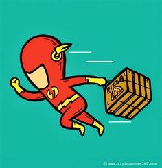 E se os super-heróis trabalhassem? - Thalita Maia