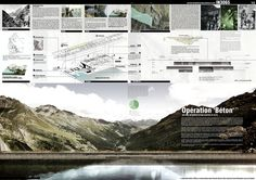 Bustler: Winners of INNATUR 3 propose fresh ideas of blending architecture and nature Architecture Panel, Architecture Drawings, Architecture Design, Shadow Architecture, Landscape Architecture Portfolio, Architecture Magazines, Japanese Architecture, Project Presentation, Presentation Layout