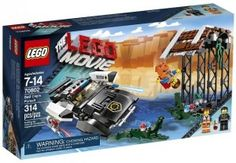 """Looking for great deals on """"LEGO Movie 70802 Bad Cops Pursuit""""? Compare prices from the top online toy retailers. Save big when buying your favorite LEGO sets. Lego Film, Lego Batman, Lego Marvel, La Grande Aventure Lego, Lego Movie Sets, Speed Action, Police Lights, Black Friday Specials, Toys R Us Canada"""