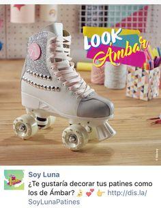Soy Luna Light Up Roller Skates Original TV Series Disney 2017 novelty All Sizes