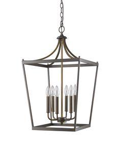 Kennedy 6-light chandelier in oil rubbed bronze