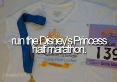 Princess Half Marathon.... Didn't know this existed until today but it is pretty awesome! Ad that to the bucket list!