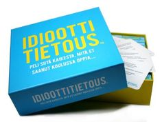 Idioottitietous - Board game with questions that u DIDN'T learn at school!